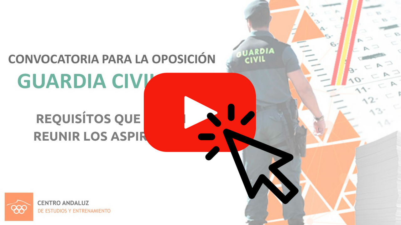 requisitos para aspirantes a la oposición guardia civil 2018