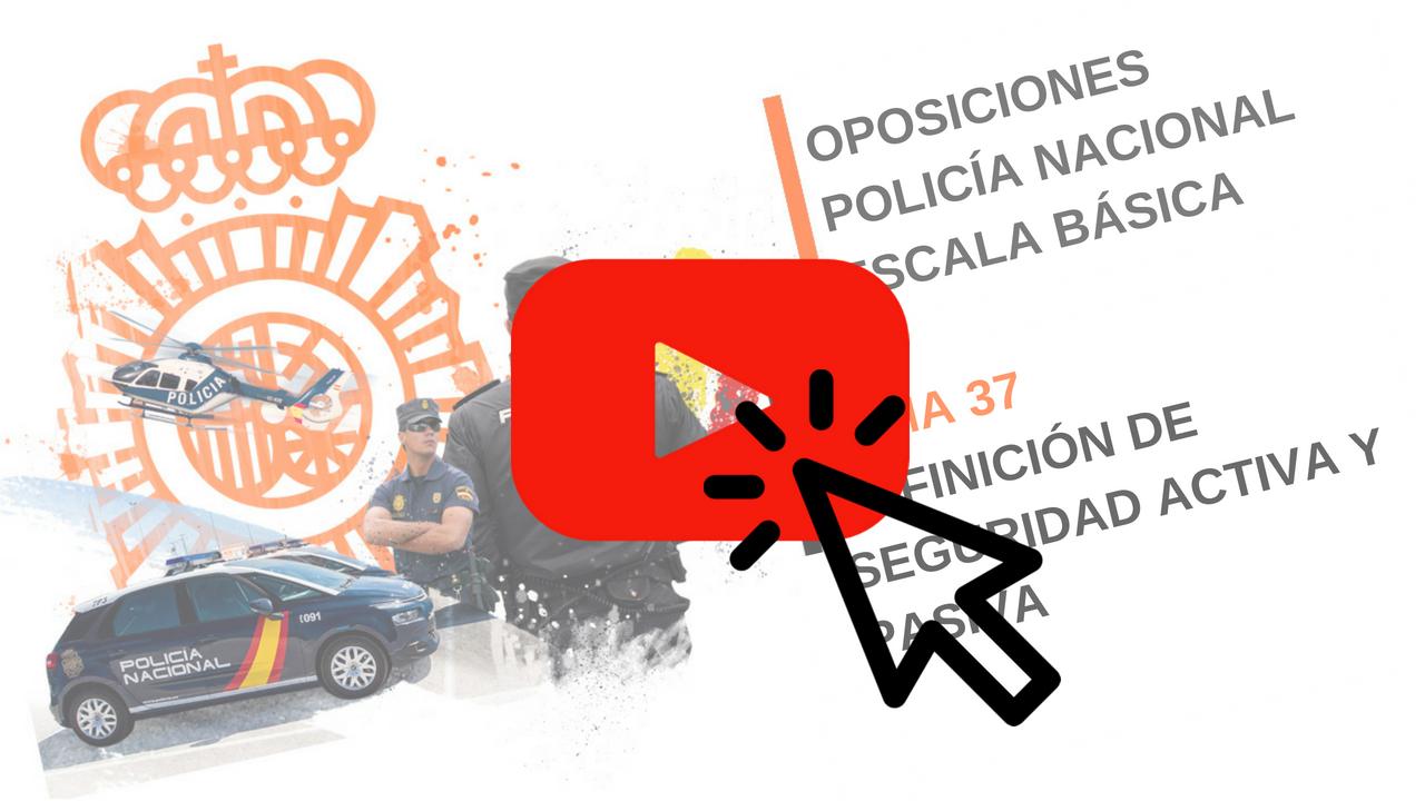 Vídeo Seguridad Activa y Pasiva: Definición.