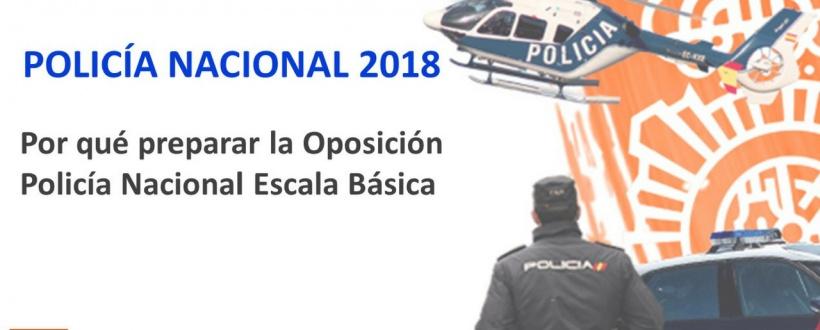 Por qué preparar la Oposición Policía Nacional Escala Básica