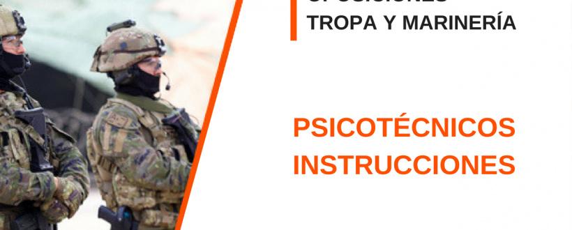 Psicotécnicos Oposición Tropa y Marinería Profesional: Figuras de domino.
