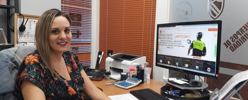 Verónica Leyva, Responsable de Administración