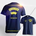 Camiseta técnica Policía Local