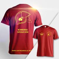 Camiseta técnica Bomberos
