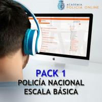 Curso Avanzado Oposición Escala Básica Policía Nacional. Mensualidad Marzo