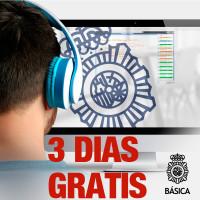 CLASES PACK GRATIS 3 DIAS EN POLICIA NACIONAL ESCALA BASICA