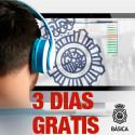 GRATIS 3 días de PACK 01 en Policía Nacional Escala Básica