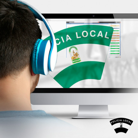 Clases videoconferencia Policía Local Andalucía
