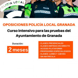 Curso Intensivo Policía Local Granada