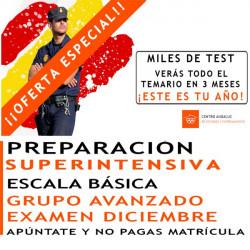 Superintensivo Policía Nacional Escala Básica Grupo Avanzado