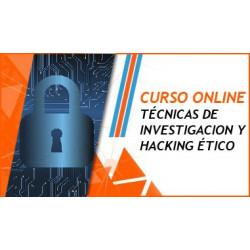Curso sobre Métodos y Técnicas de Hacking Ético