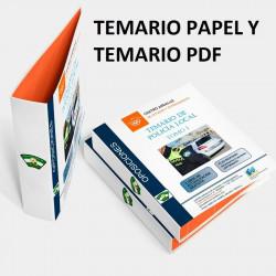 Temario papel + PDF oposición de Policía Local Andalucía 2020