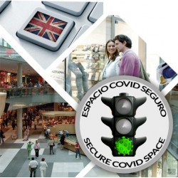 Curso de Prevención e Intervención en Escencarios COVID-19 + Curso de Inglés en centros comerciales